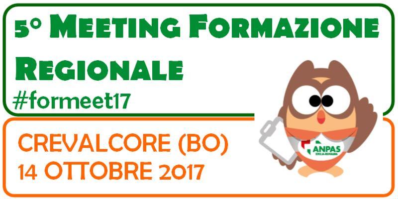 5° Meeting Formazione Regionale - 14 Ottobre 2017