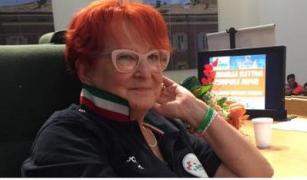 La presidente di Anpas Emilia-Romagna MIRIAM DUCCI